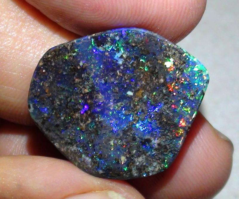 14.65 ct Boulder Opal Natural Gem Multi Color