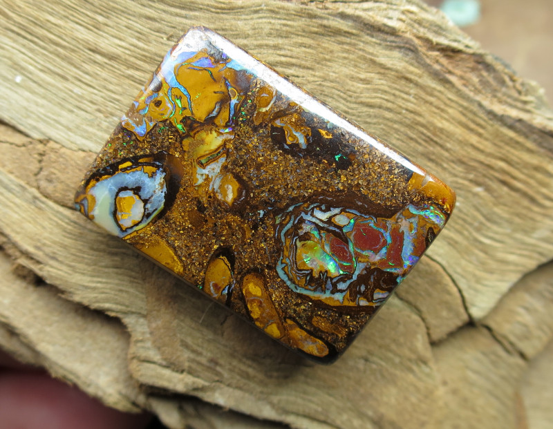 "54cts,""BOULDER MATRIX OPAL~FROM OUR MINES!!"""