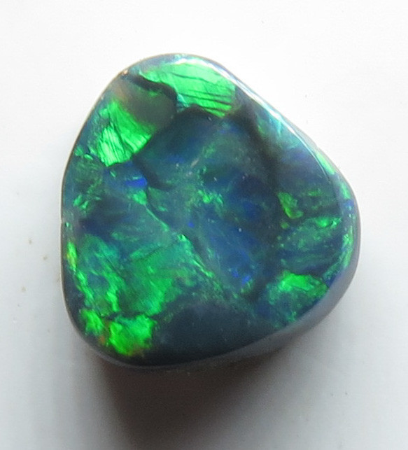 0.50ct Lightning Ridge Black Opal stone