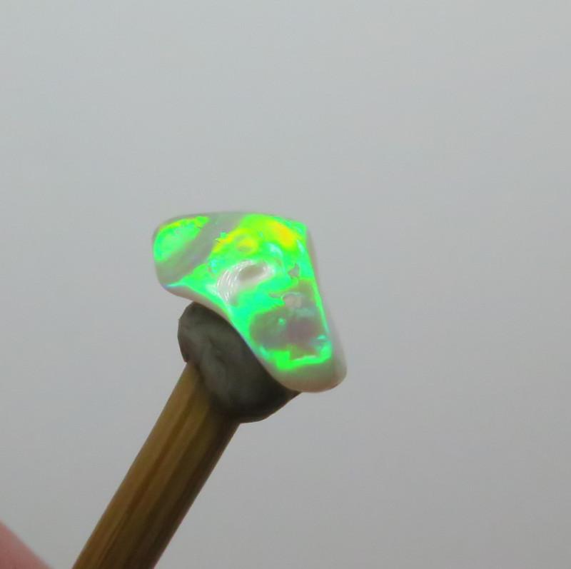 1.04ct Lightning Ridge Crystal Opal stone