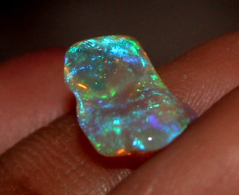 1.60 ct Natural Ethiopian Welo Fire Freeform Welo Opal Carvin 148