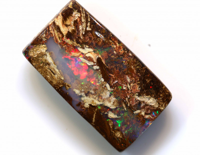 20.75CTS BOULDER WOOD FOSSIL OPAL STONE   NC-4772