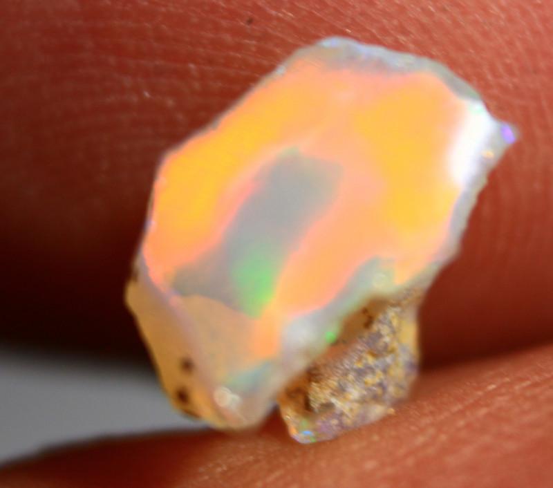 NR   Cts  1.75    FC261   Rough Ethiopian Wello Opal      Gem Grade