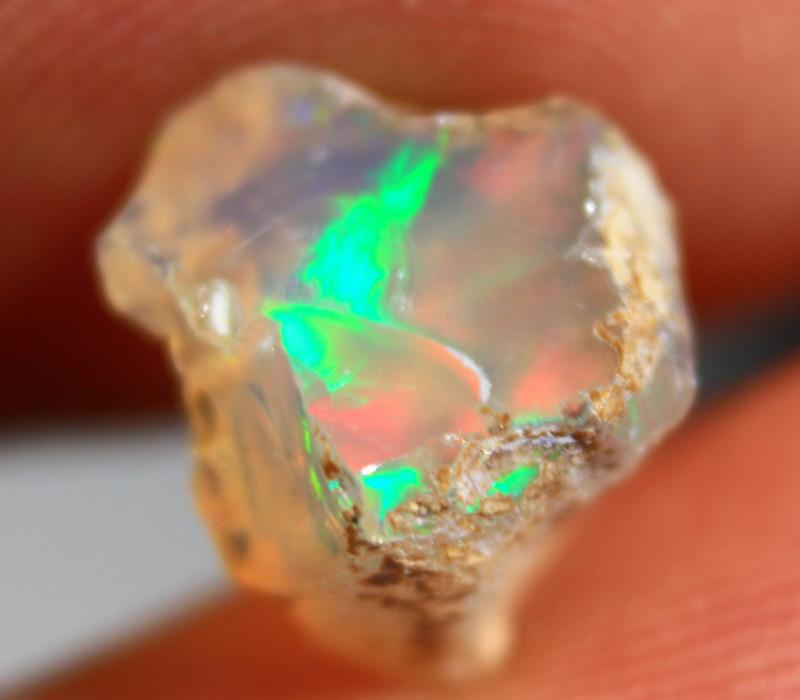 NR   Cts  2.55    FC265   Rough Ethiopian Wello Opal      Gem Grade