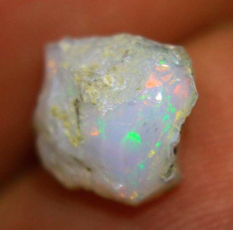 Cts 3.10  FC97    .Rough Ethiopian Wello Opal   ~ Gem Grade -