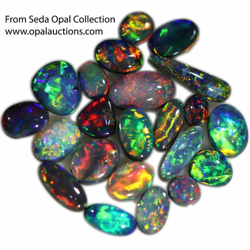 10.492 CTS BLACK OPAL  PARCEL FROM SEDA OPALS COLLECTION [LRO400]