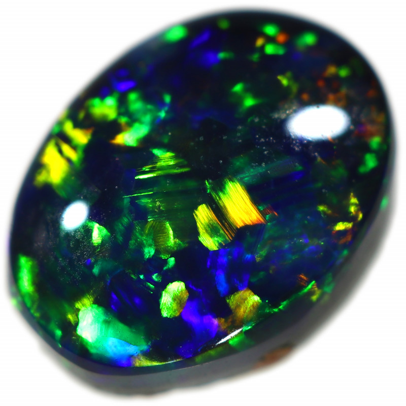 0.883 CTS BLACK OPAL  FROM SEDA OPALS COLLECTION [LRO406]