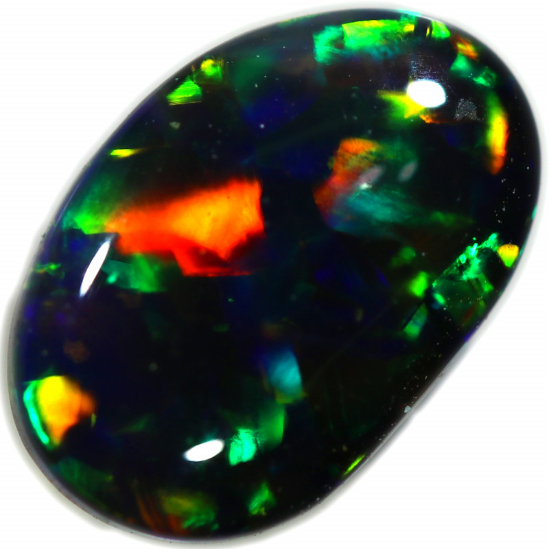 1.091 CTS BLACK OPAL  FROM SEDA OPALS COLLECTION [LRO409]