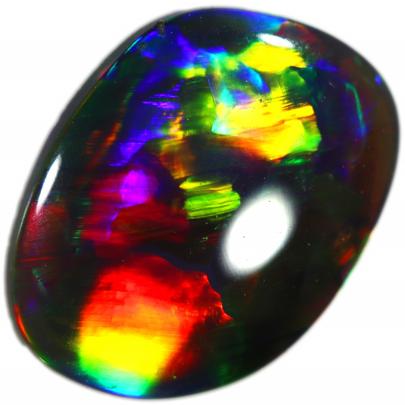 0.994 CTS BLACK OPAL  FROM SEDA OPALS COLLECTION [LRO410]