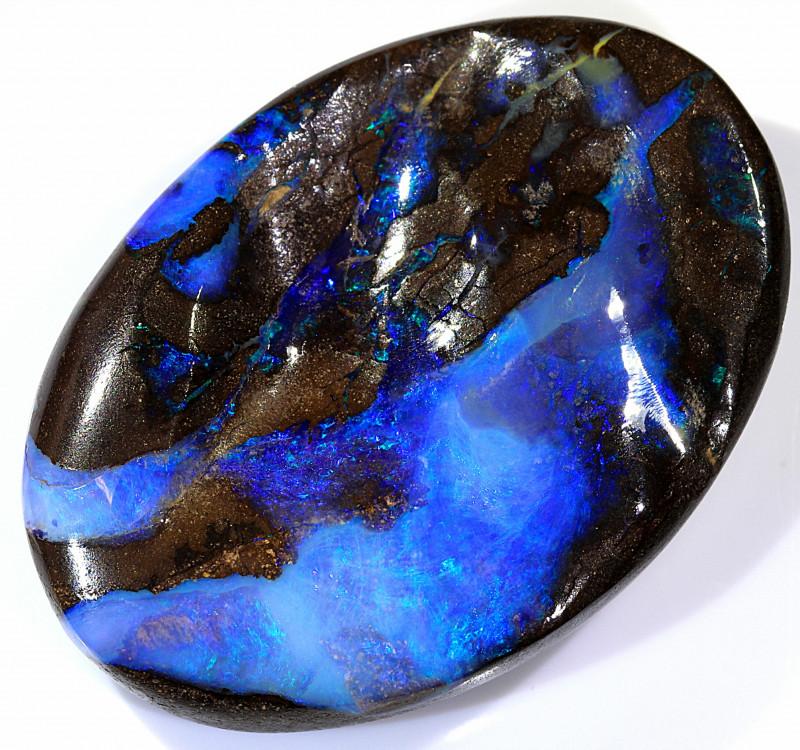 45ct 32x23mm Queensland Carved Boulder Opal  [LOB-2350]