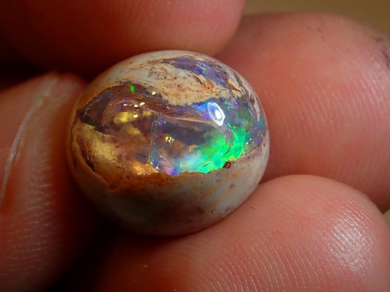 11.5ct  Mexican Matrix Cantera Multicoloured Fire Opal