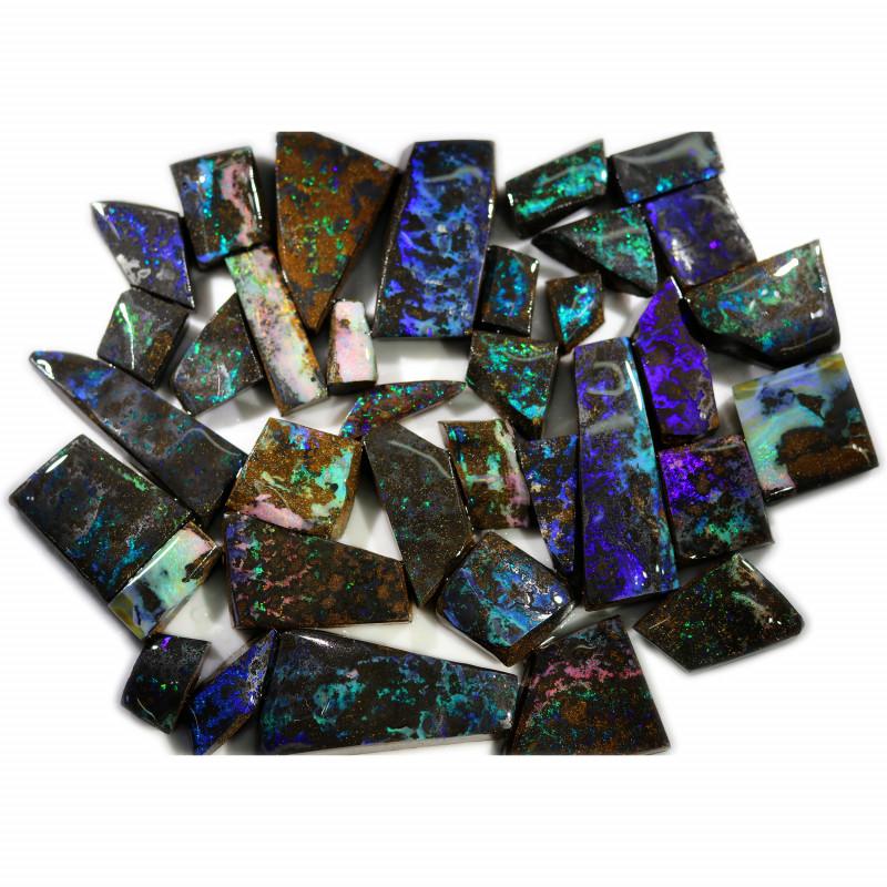 1260.80 CTS BOULDER OPAL ROUGH - [BY7741]SAFE reduced to 1$/ct