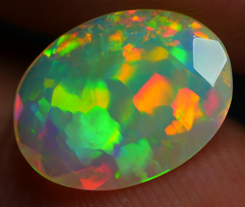1.45 CRT PERFECT JIGSAW PUZZLE NEON FLASH DELUXE FACETED WELO OPAL
