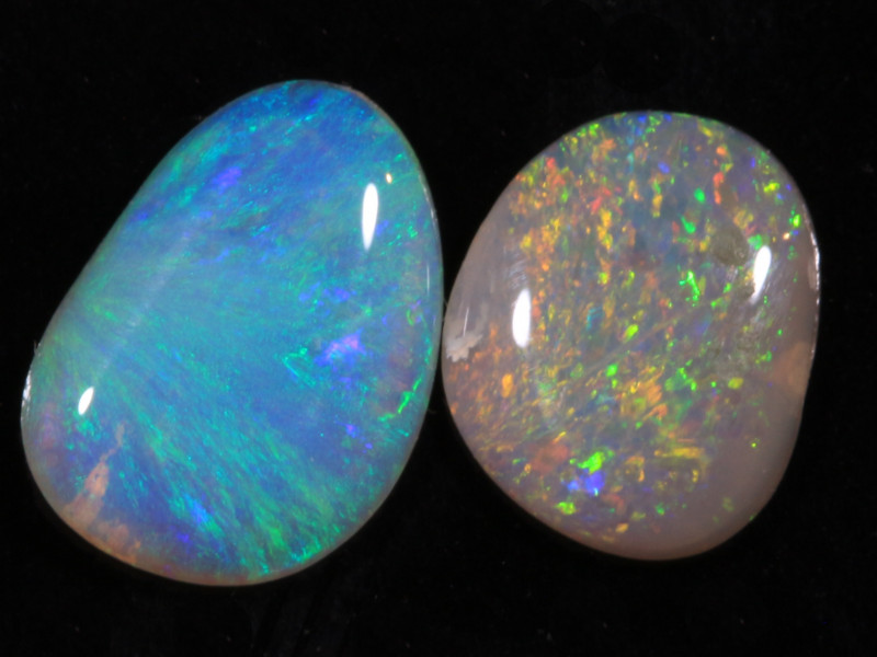 1.10ct -LUCY AND RICKY- Lightning Ridge Opal Parcel [20758]