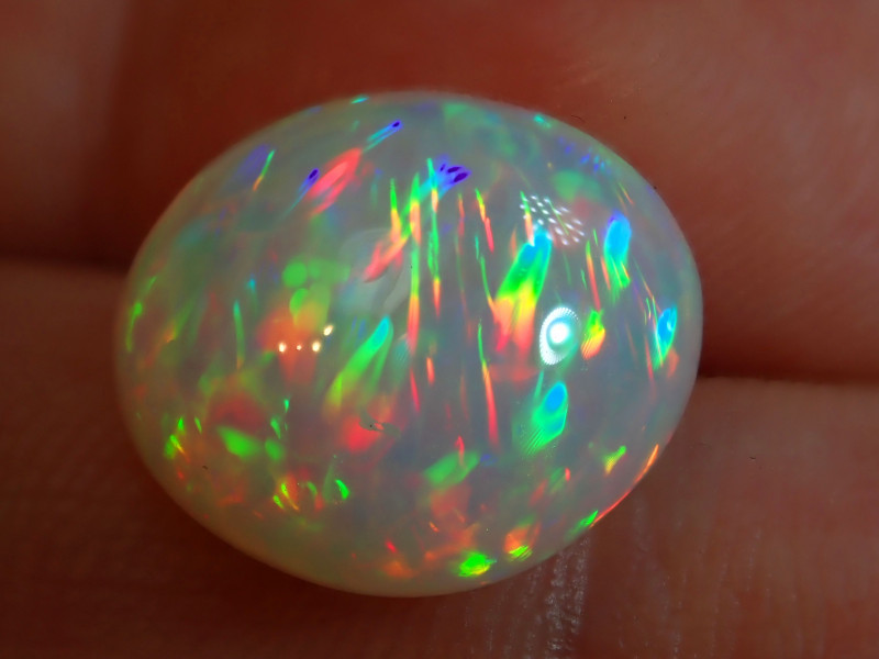 6.65ct Bright  Natural Ethiopian Welo Solid Opal