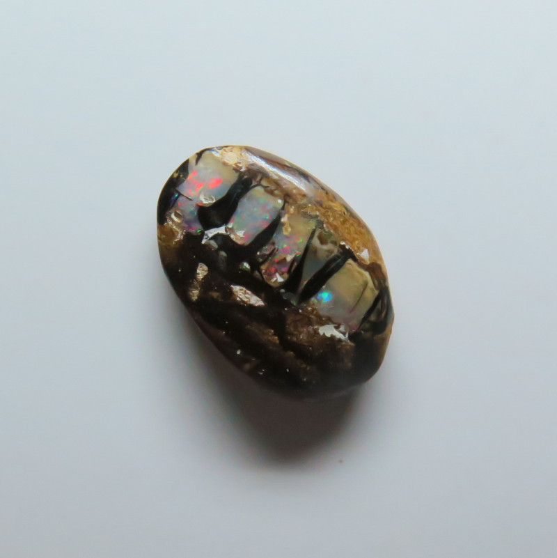 4.94ct Queensland Boulder Opal Wood Replacement Stone