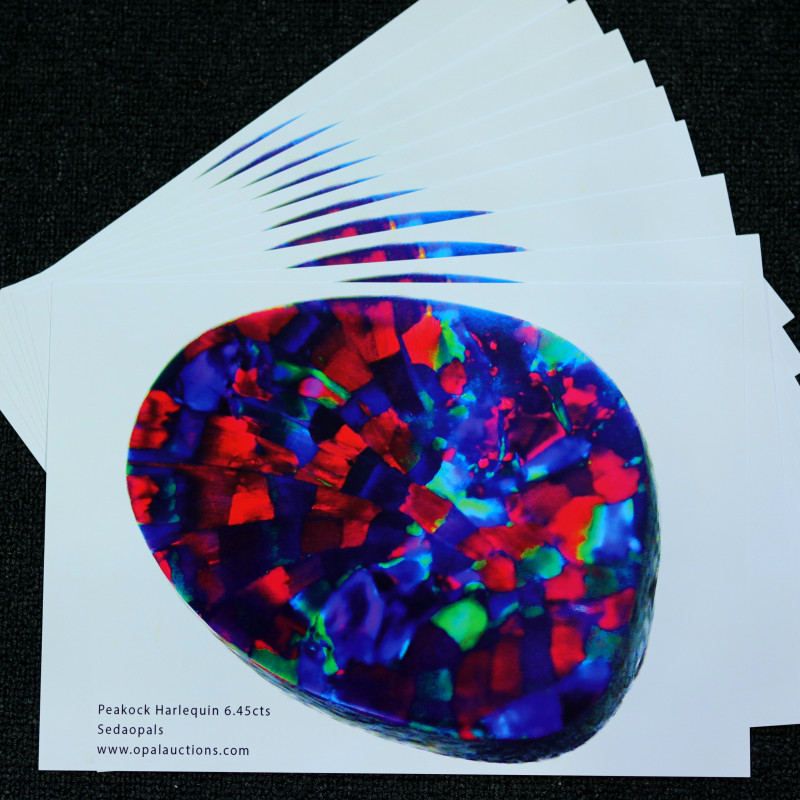 TEN OPAL POSTERS -QUALITY GLOSSY PAPER A4 SIZE