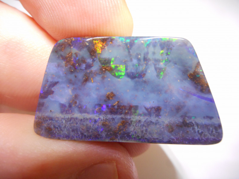 28.15ct Boulder Opal Polished Stone
