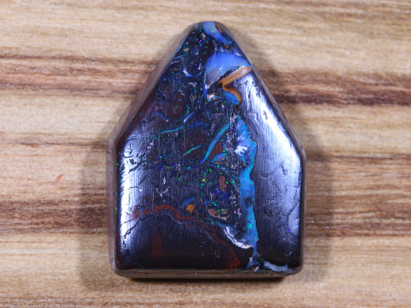 18.45ct -LITTLE HOUSE ON THE PRARIE-Boulder Opal [20856]
