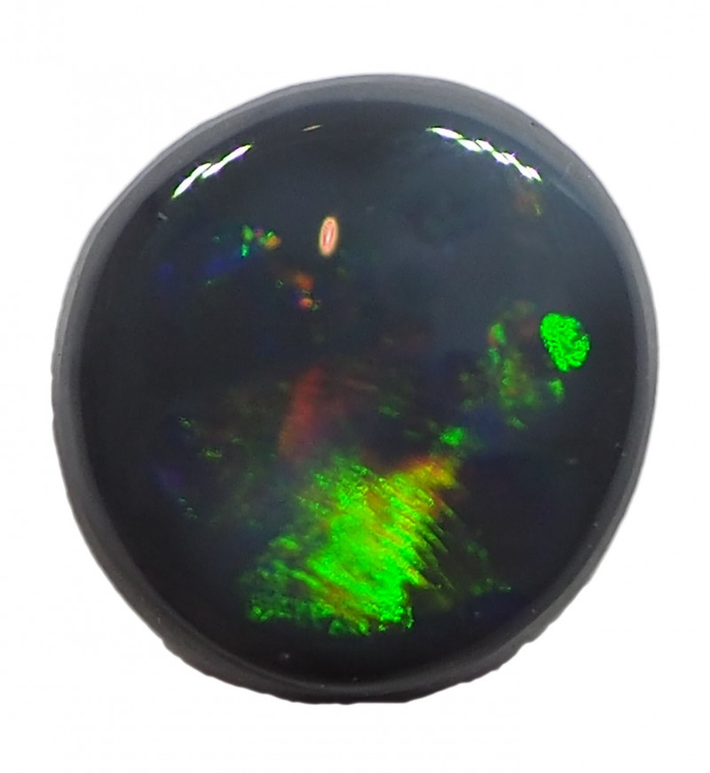0.65CT BLACK OPAL FROM LIGHTNING RIDGE RE422