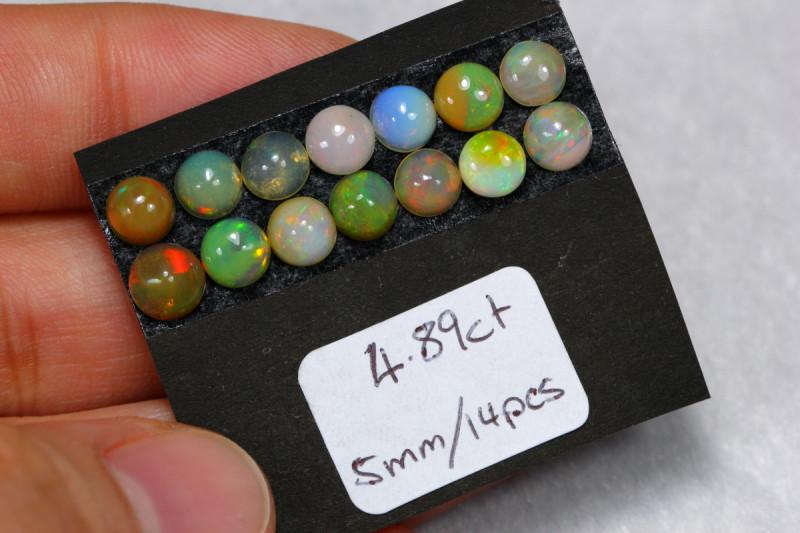 4.89cts Ethiopian Welo Opal Lot Parcel /02