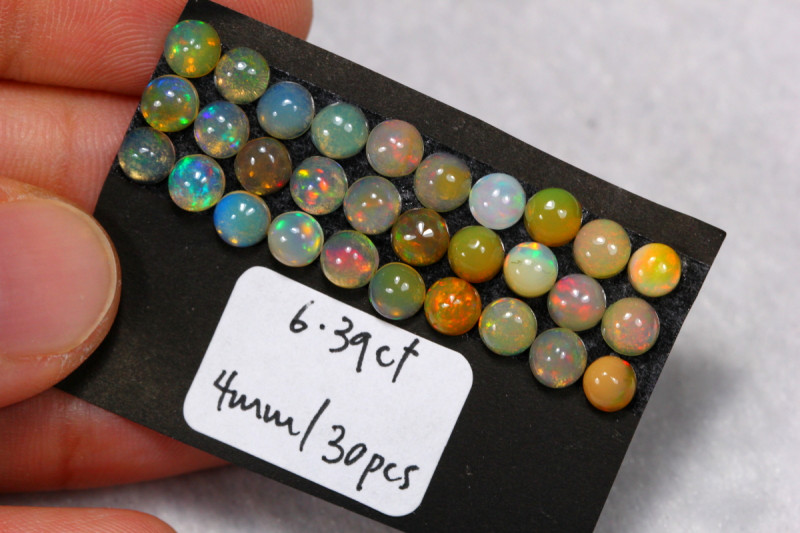 6.39cts Ethiopian Welo Opal Lot Parcel /13