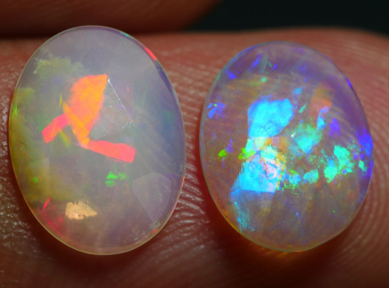 1.75 CRT 2PCS FATECED BROAD FLASH PACTHWORK PLAY COLOR WELO OPAL*