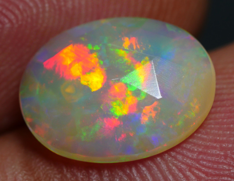 1.55 CRT GORGEOUS PRISM ROLLING FLASH PLAY MULTICOLOR WELO OPAL*