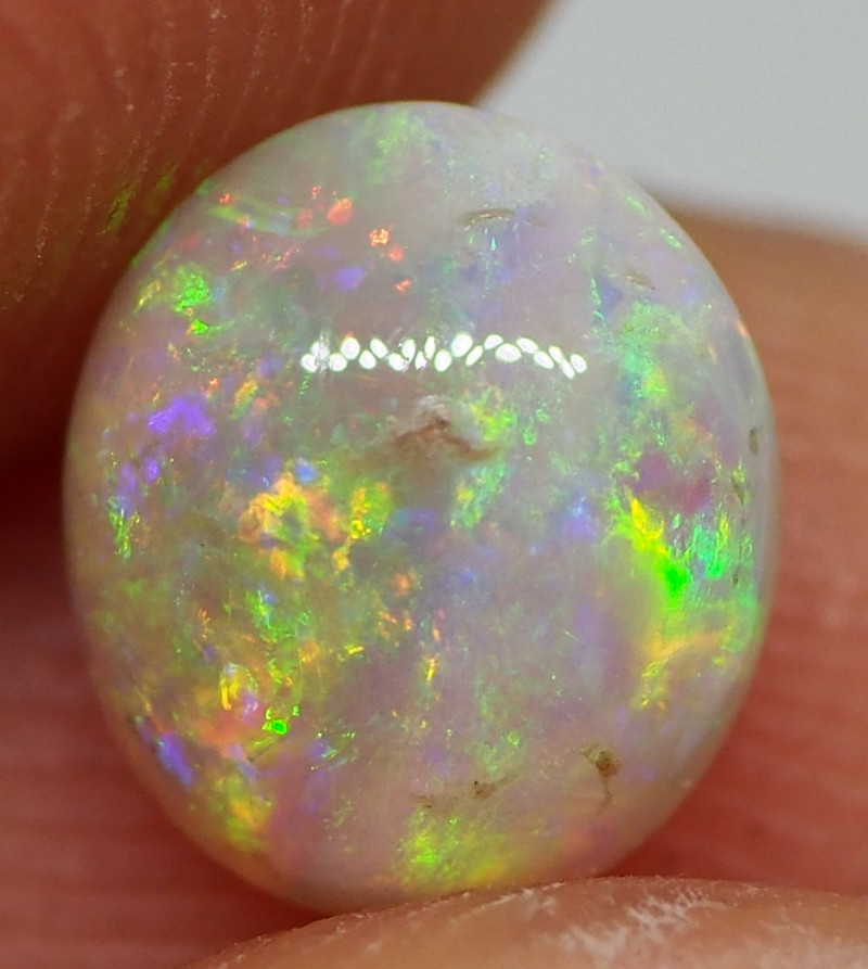 0.85CT  CRYSTAL OPAL FROM LIGHTNING RIDGE RE446