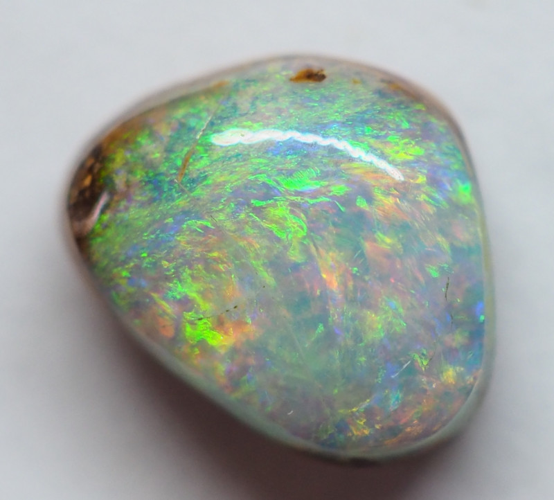 1.25CT SMALL BRIGHT BOULDER PIPE OPAL  AA256