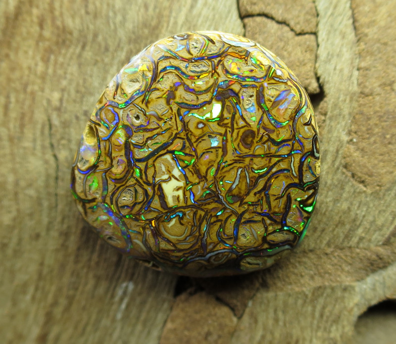 "13cts,""BOULDER MATRIX OPAL~WE MINE YOWAH OPALS!"""