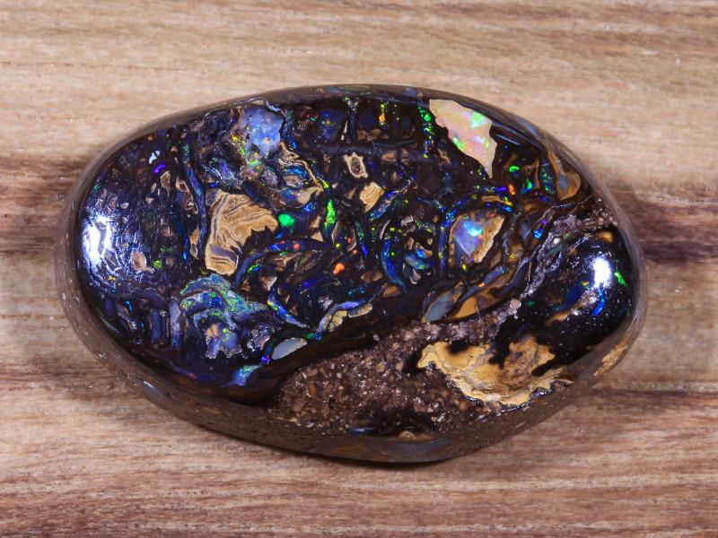 11.55ct -PACIFIC KELP-  Koroit Boulder Opal [20905]