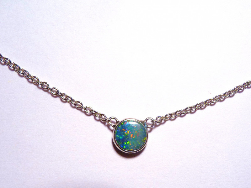 PRE EASTER SALE WAS US$176  Beautiful Bright Doublet Australian Opal and St