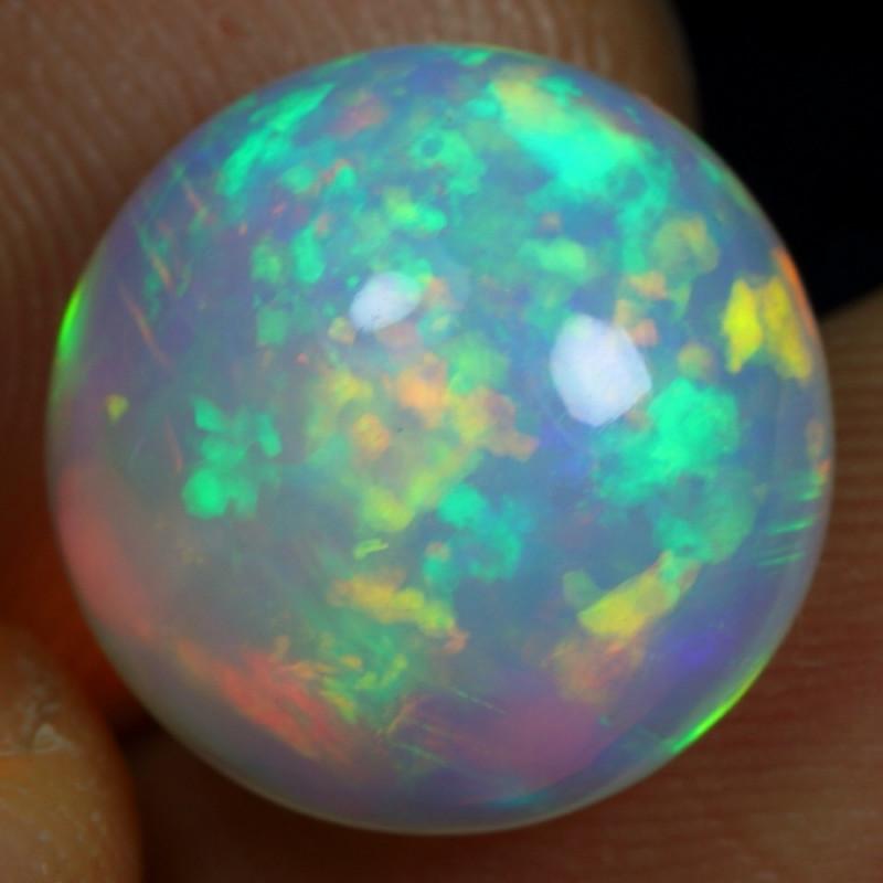 6.00cts Stunning Rainbow Patchwork Ethiopian Opal