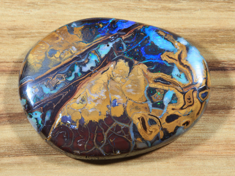 139.05ct- THE PEACOCK-  Koroit Boulder Opal [20936]