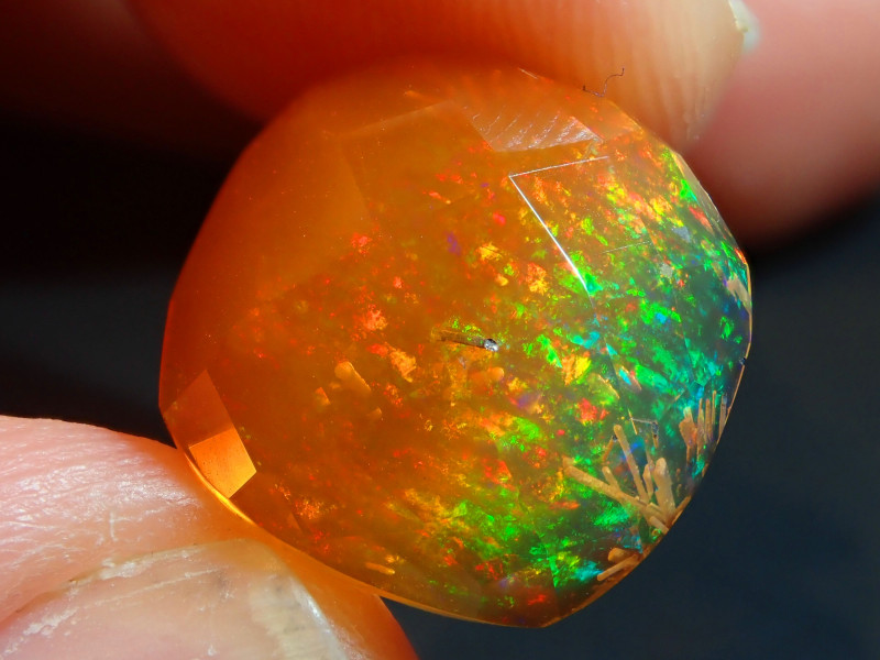 9.16ct Mexican Faceted Fire Opal