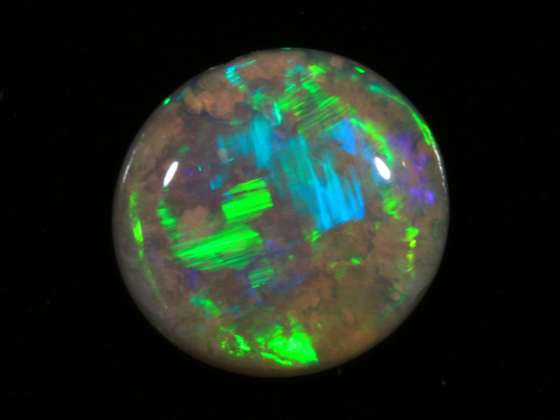 1.05ct -SHAMROCK FIELDS- Lightning Ridge Opal [20996]