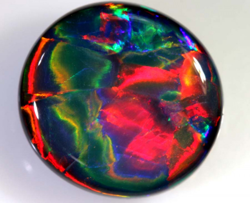 N1 - 10.32 CTS QUALITY BLACK OPAL POLISHED STONE INV-d1
