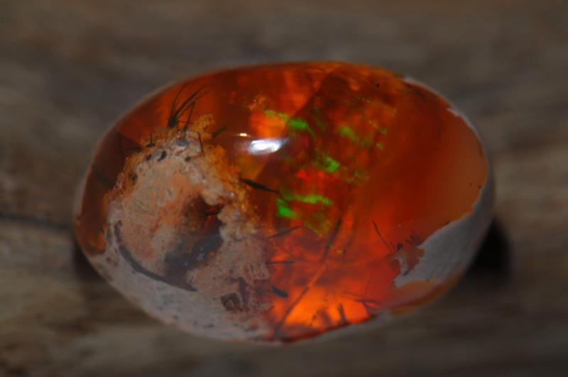 9.5ct Mexican Matrix Cantera Multicoloured Fire Opal