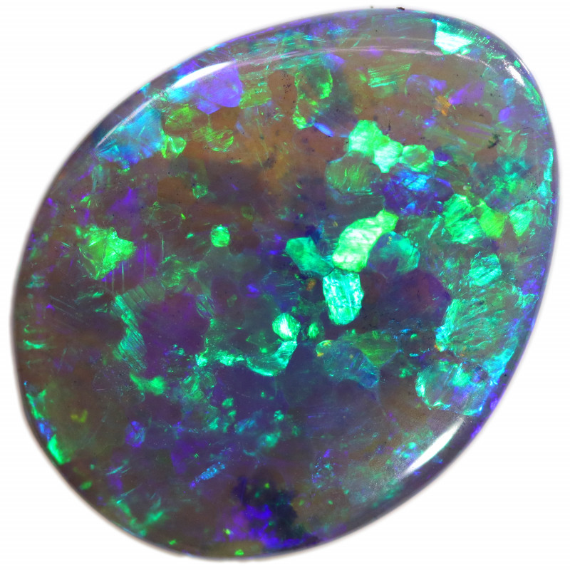 8.13 CTS BLACK CRYSTAL OPAL FROM LIGHTNING RIDGE [LRO457]
