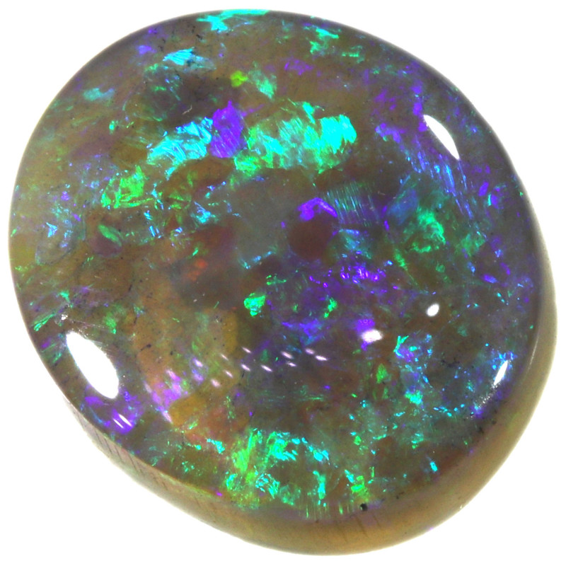 3.12 CTS CRYSTAL OPAL STONE FROM LIGHTNING RIDGE[LRO481]