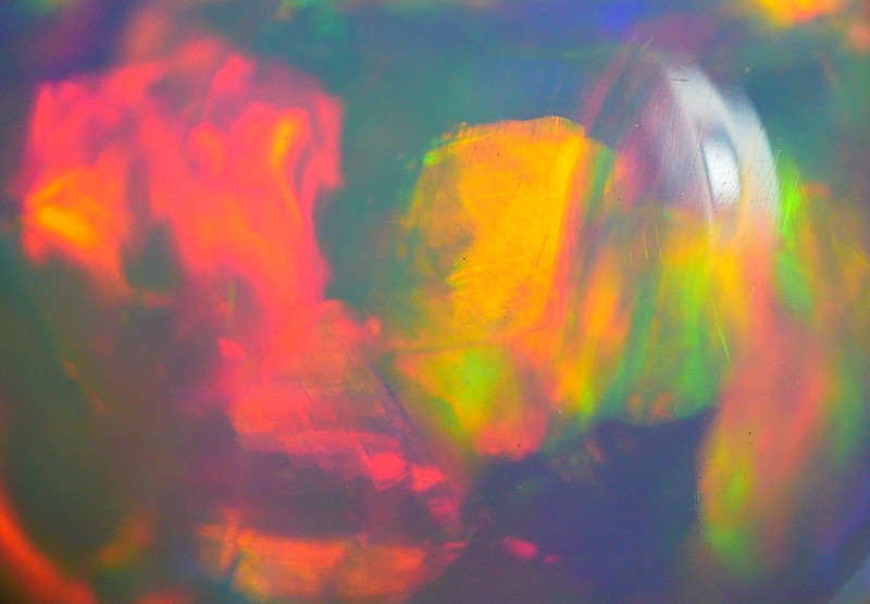 3.00 CRT 12BEAUTIFUL ABSTRACT PAINTING PATTERN MULTICOLOR WELO OPAL*5
