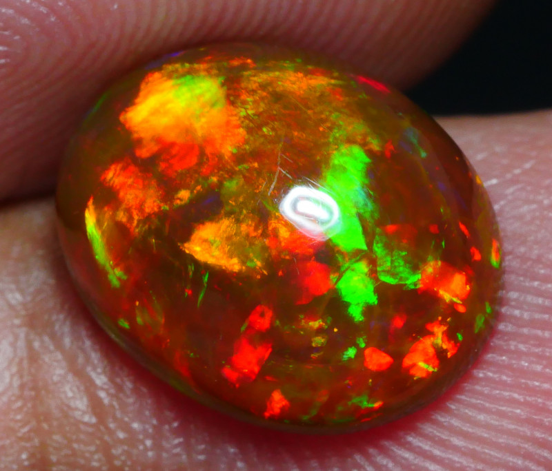 3.35 CRT AMAZING DARK BASE 5/5 FIRE CLOUD FULL COLOR WELO OPAL*22