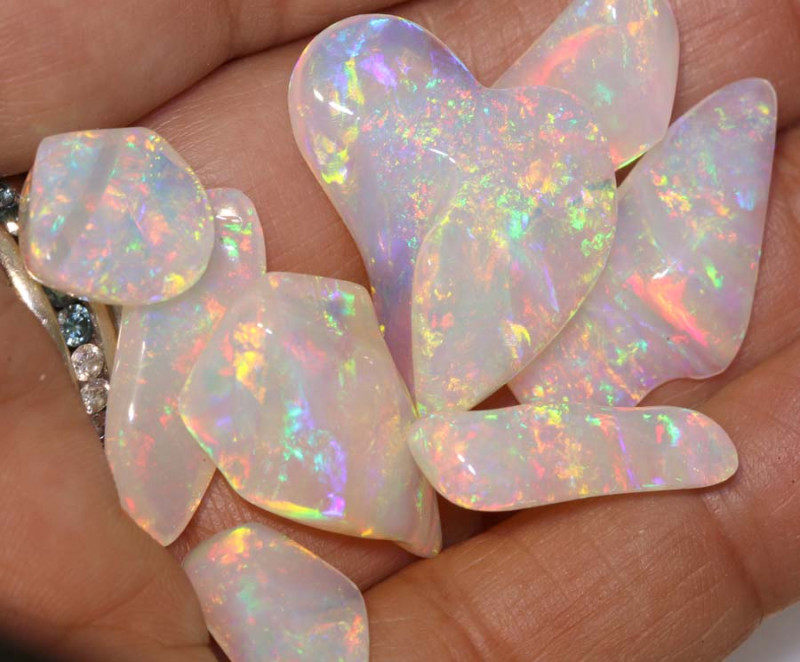46.50 CTS QUALITY  CRYSTAL OPAL INV- JE14