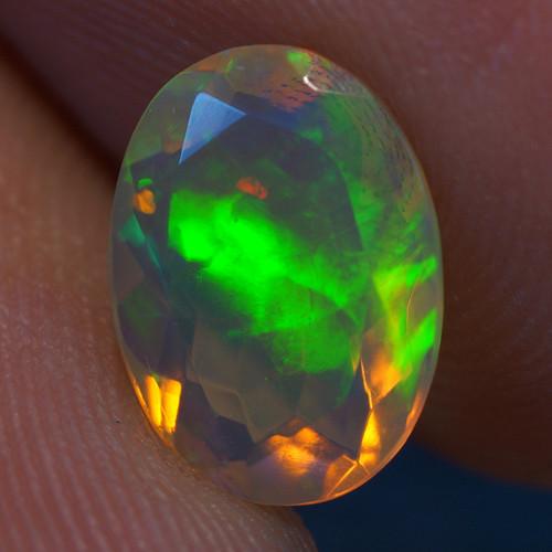 1.10 CT AAA Quality Faceted Cut Ethiopian Opal-BAF274