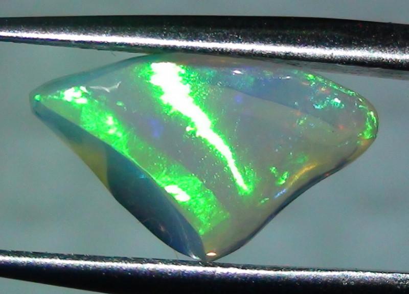 1.75 ct Ethiopian Gem Color Carved Freeform Welo Opal
