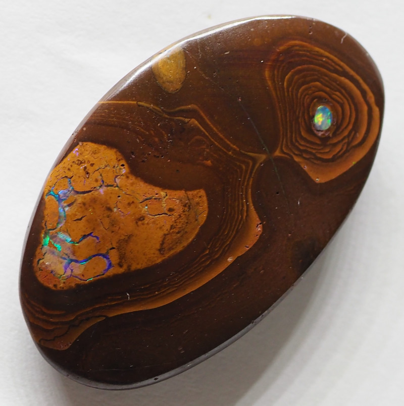 49.30CTS KORIOT 'ALIEN WITH  OPALS IN BELLY' RE475
