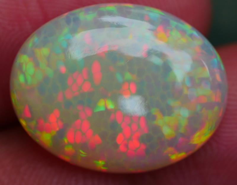 7.65 CRT AMAZING 5/5 3D PRISM HONEYCOMB PATTERN WELO OPAL-