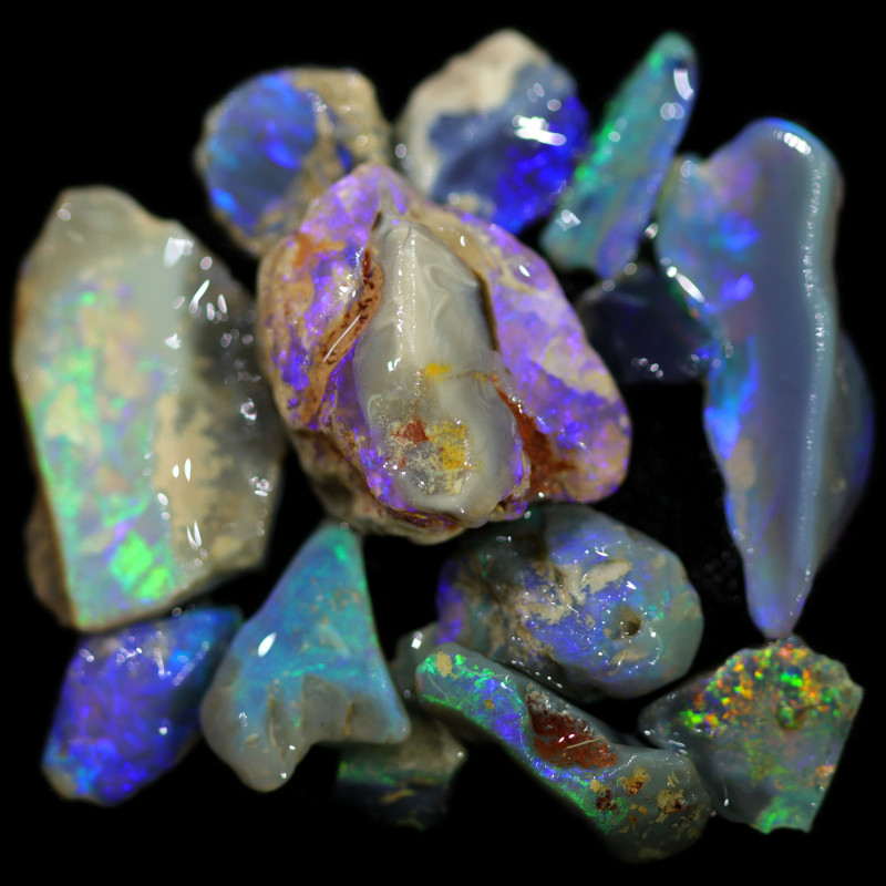 3655.00 CTS COLOURFUL OPAL ROUGH MINE RUN FROM LIGHTNING RIDGE[BRP160]