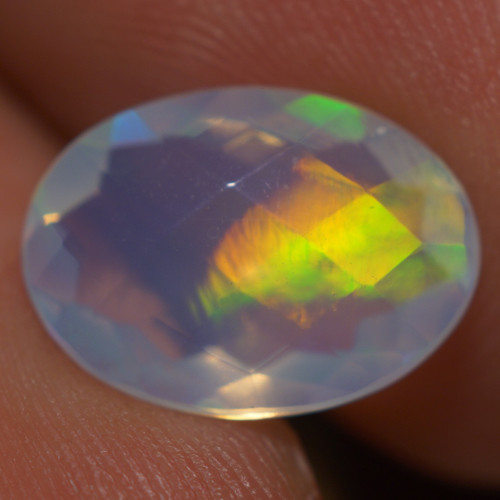 2.26CT AAA Quality Double Sided Faceted Cut Ethiopian Opal-BAF399